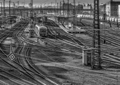 Bahngleise - Horst Schäfer