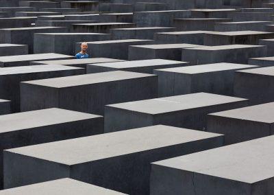 Holocaust-Mahnmal - Horst Schäfer