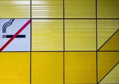 U-Bahn-Bahnsteig - Christine Kress